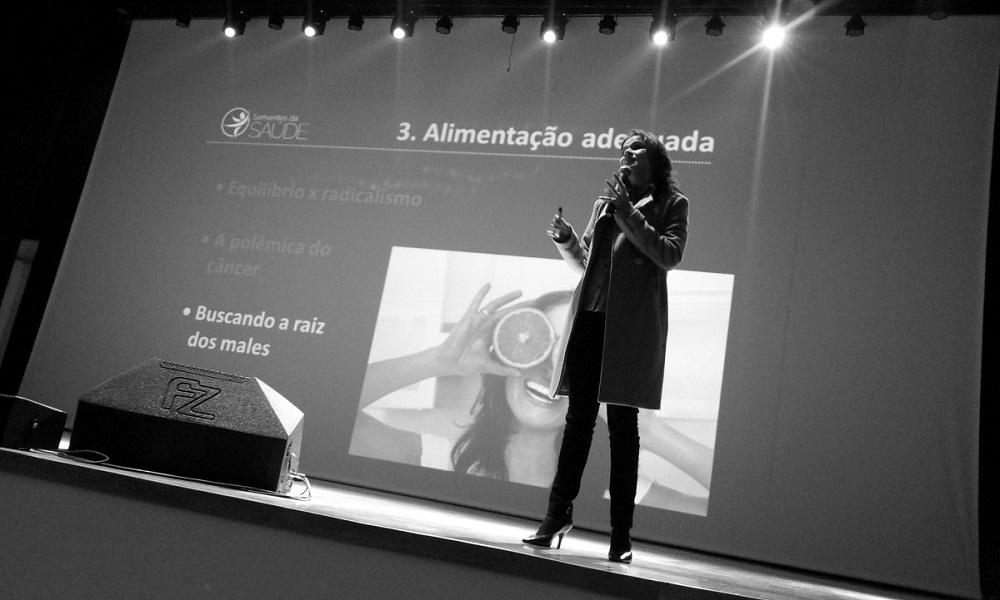Aurideia Vasconcelos | Palestra Sementes da Saúde