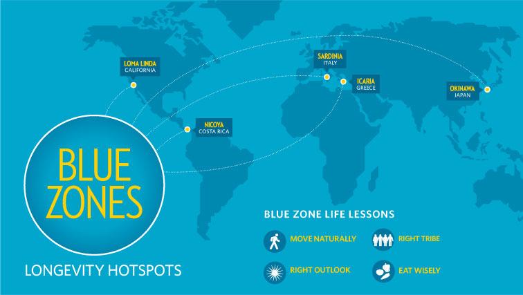 Você conhece as zonas azuis do planeta? Algo curioso!